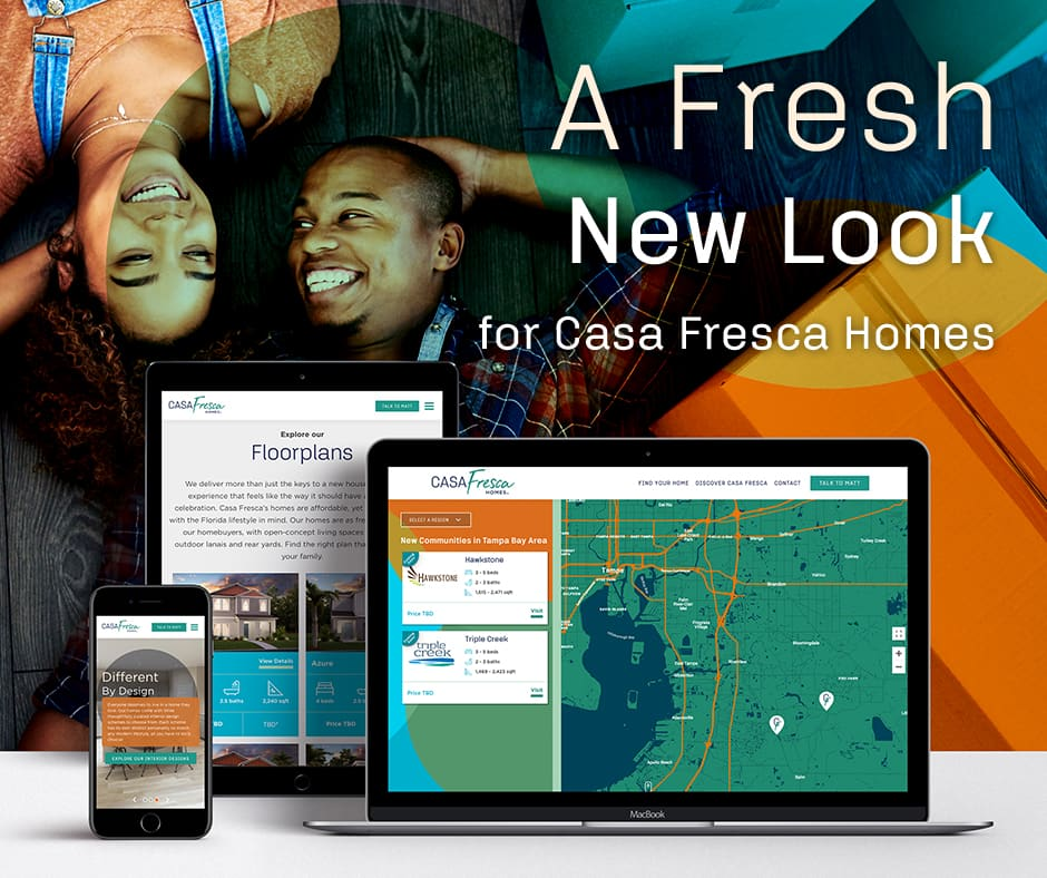 Casa Fresca website redesign