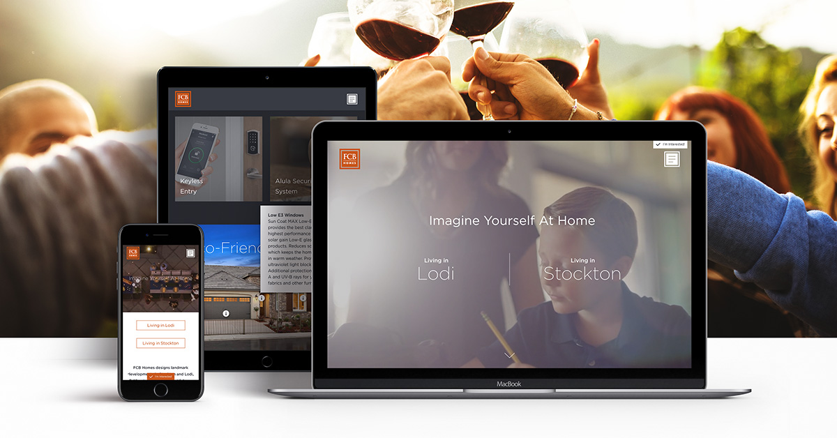 FCB Homes new website