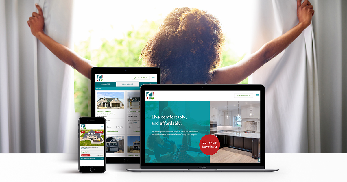 JBG Builders Gets a Fresh New Look Online